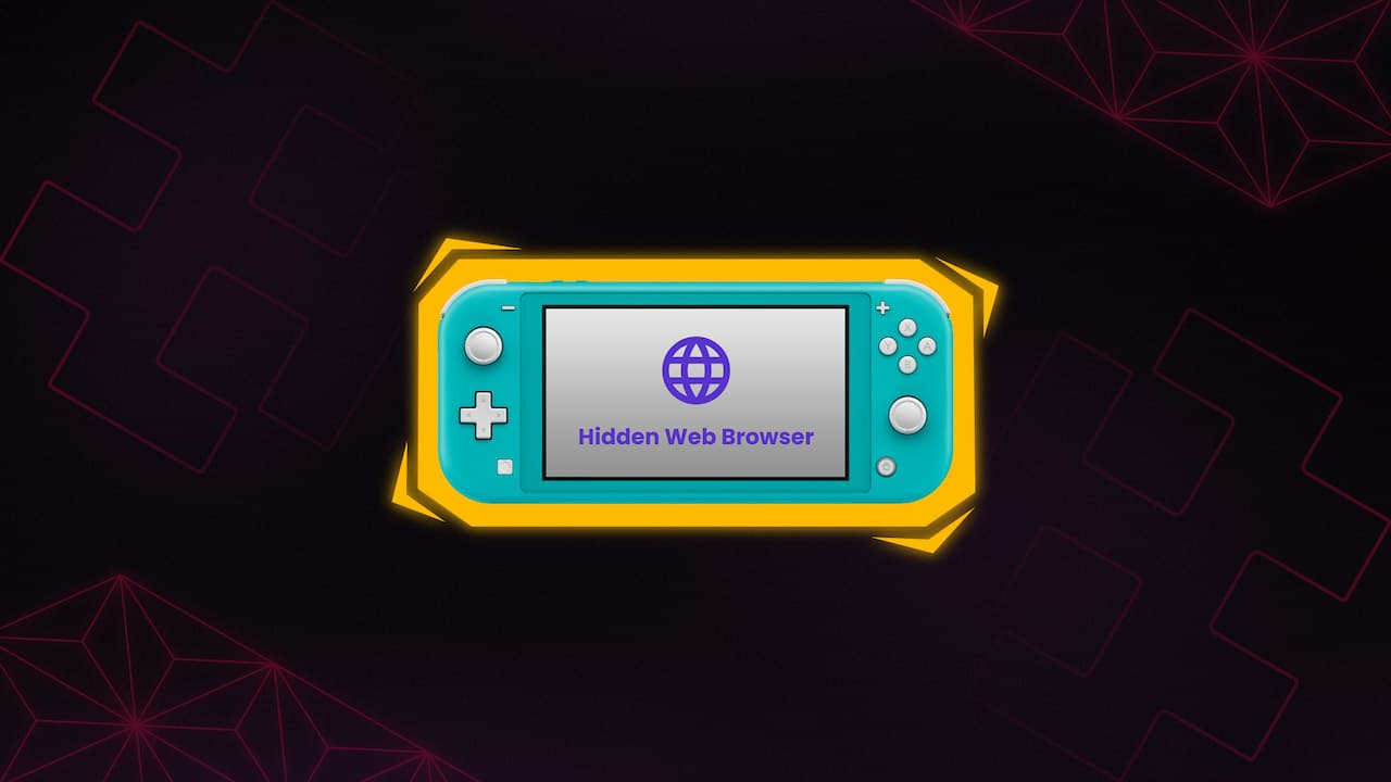 Nintendo Switch Browser
