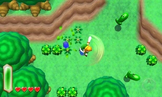 Legend Of Zelda Link Btween Worlds screenshot