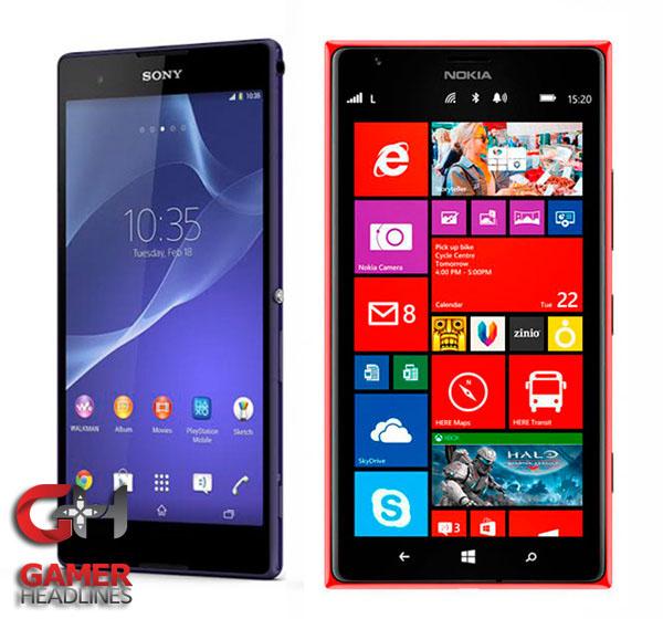 Xperia T2 Ultra vs Nokia Lumia 1520 Specification Comparison