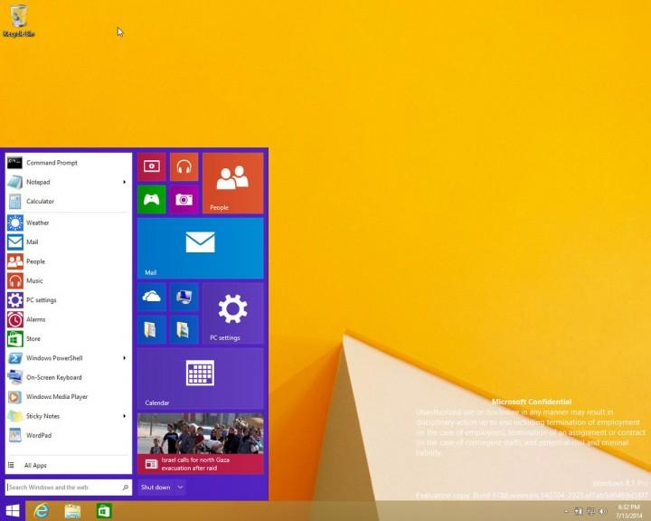 Windows 10 not Windows 9