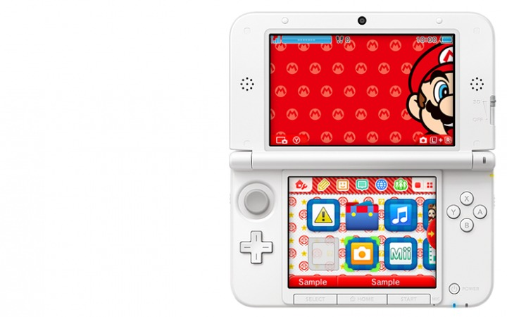 3DS Themes Mario