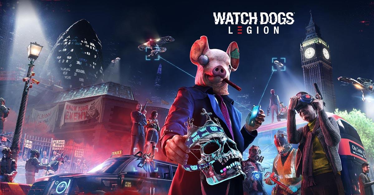 Watch Dogs Legion launch