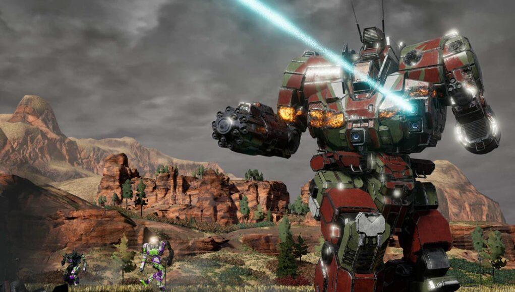 Mechwarrior 5 Xbox Port
