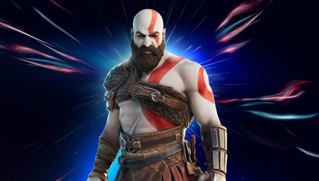 Kratos Joins Fortnite