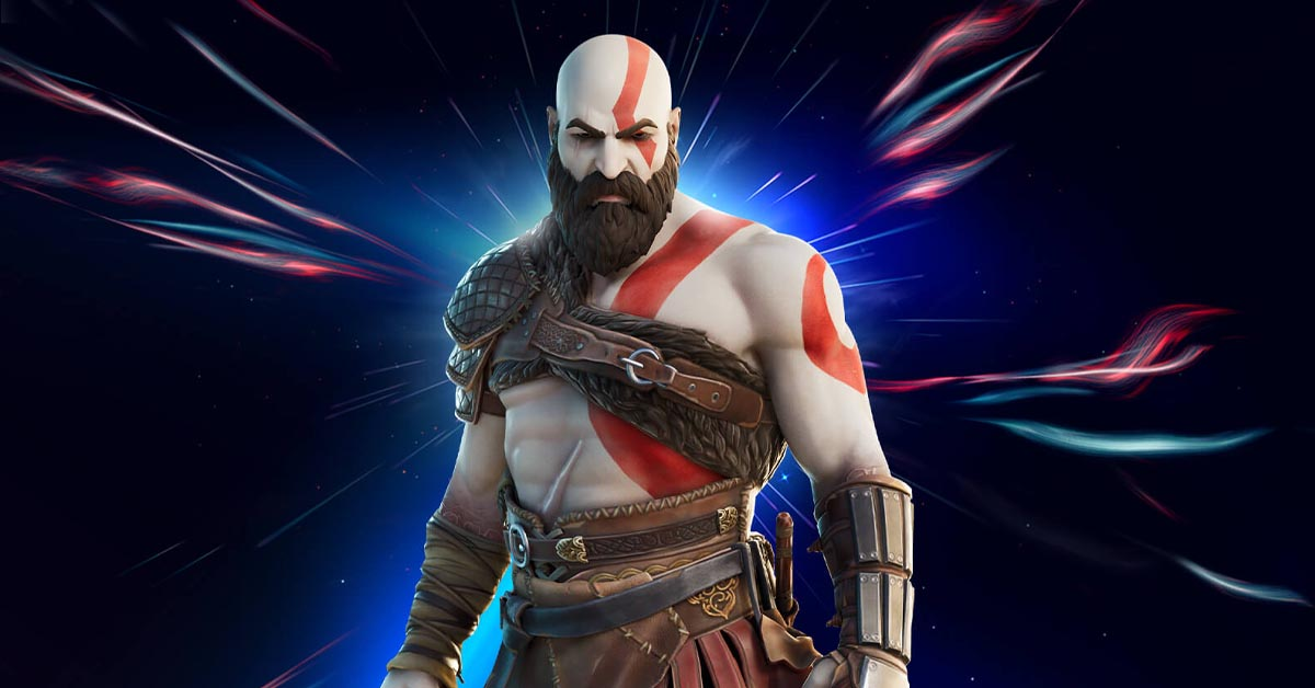 Kratos Joins Fortnite